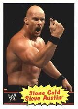 2012 Topps Heritage WWE #54 Stone Cold Steve Austin