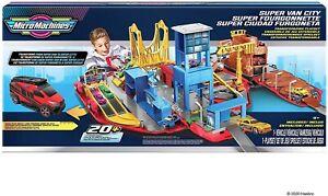 Micro Machines Super Van City Transforming Playset *BRAND NEW*