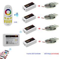 Mi Light Timer WiFi RGB RGBW LED Strip Bulb Lamp RF Remote 4-zone Controller