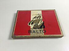 BOITE CIGARE CIGARETTE METAL BALTO TOBACCO  ANCIEN PACK TABAC