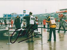 Olivier Panis signed F1 photo - Mclaren Mp4-15 Mercedes F1 test Silverstone 2000