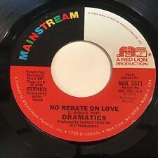 Dramatics: No Rebate On Love / Feel It 45 - Soul
