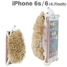 Simasima ZOOPY Soft Stuffed Plush Case Cover for iPhone 6s / 6 (Hedgehog)