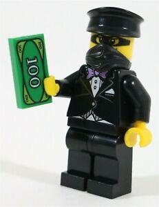 LEGO CROOK TIPPY DORMAN MINIFIGURE CITY ADVENTURERS MADE OF GENUINE LEGO PARTS