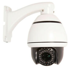1200TVL HD 10x Zoom PTZ Dome IR Home CCTV Camera Auto Sync IR-Cut System PAL