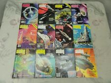 Analog Science Fiction Science Fact Magazines 1978 Complete 12 Issues