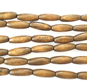 Dark Brown Oval Wood Beads-Wodden Beads jewelr making beads