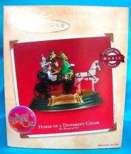 Hallmark Ornament 2002-Horse Of A Different Color-The Wizard Of Oz-Magic-Voice