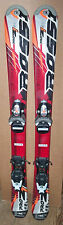 100 cm Rossignol Pro Z1 junior skis bindings + Head size 12.5 kids boots [gy]