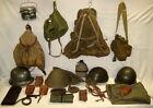 Lot Militär-Ausrüstungsteile, versch. Länder, 1940-1970er Jahre, Fundgrube !!!!