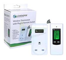 Lowenergie 735 Wireless Thermostat with Plug-in Remote Socket
