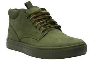 Mens Timberland Cupsole Adventure Green Leather Trainers Shoes Size UK  EU 5422A