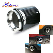 For Mini Cooper R55 R56 R60 JCW Carbon Fiber Steel Exhaust Pipe Tail Muffler Tip