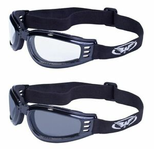 2 Goggles Weekend Warrior Transportation Motorcycle Cycling Skydiving Bar Hopper