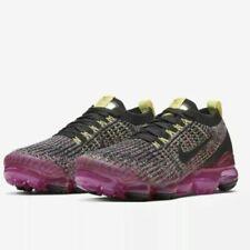 Women's Nike Air Vapormax Flyknit 3 Black Pink Blast Running AJ6910-006 Size 7