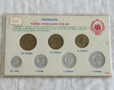 More details for yugoslavia 7 coin modern uncirculated type set