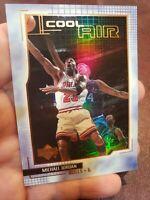 1999-00 Upper Deck Michael Jordan Cool Air refractor insert card #MJ2 BULLS HOF