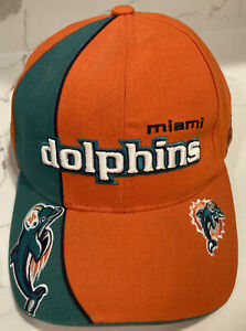 Miami Dolphins Strapback Hat Reebok Pro Line Authentic Cap NWOT NFL Football