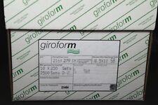 8.5 x 11 2 Part GiroForm Carbonless Paper Reverse 2,500 Sets 5000 Sheets