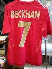 New Authentic Umbro 2006 England Beckham Jersey Womens Ladies manchester United