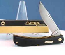 LOT DE 3 Couteaux Schrade Large Sodbuster Knife Imperial Acier Inox IMP22L