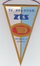 Orig.Wimpel    TJ SPARTAK DUBNICA (CSSR/Slowakei) - 80ziger // 20 cm  !!  SELTEN