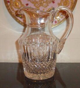 Vintage Galway Irish Cut Glass Crystal Pitcher