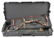 Black SKB Double bow / Rifle Case & Pelican TSA- 1720 Lock. With foam