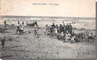 CPA 14 - LUC sur MER - La Plage
