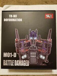 M01-D Commander Battle Damaged version Wei Jiang  Optimus Prime Transformers