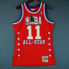 100% Authentic Isiah Thomas Mitchell   Ness All Star Swingman Jersey Size  ... 0f8641bf5