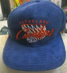 Vintage Cleveland Cavaliers Drew Pearson Youngan Script Snap back Hat Cap NBA