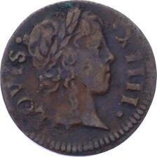 O3253 France Denier Tournois Louis XIV 1649-> Faire offre