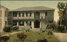 Bermuda St. Agnes Convent c1910 Postcard