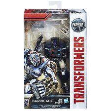 "Transformer Barricade 6"" Deluxe Action Figure Premier Edition Last Knight"