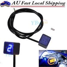 Blue LED Universal Digital Gear Indicator Motorcycle Display Shift Lever Sensor