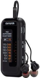 Pocket Mini Radio AM/FM - R-22