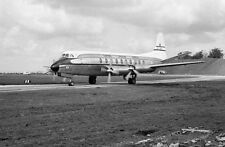 CAA CENTRAL AFRICAN AIRWAYS VISCOUNT VP-YNA  - 6x4 inch Print