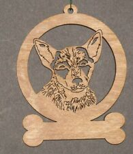 Australian Cattle Dog - Laser Cut Wood Dog Ornament - Can Be Personalized