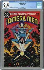 Omega Men #3 CGC 9.4 1983 1272266002 1st app. Lobo