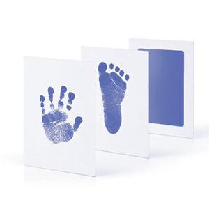Baby Kid Pet Handprint Footprint Ink Pad Paw Print Kit Imprint Novelty Gift