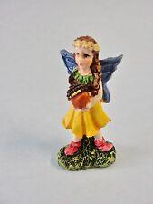 Fairy Garden Miniature Decor - Fairy Holding Acorn Resin Figure Brand New