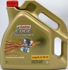 4 L Castrol Edge Professional 5W30 Motoröl LongLife III 5W-30 VW 504 00 507 00