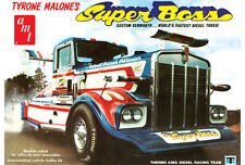 "AMT 930 TYRONE MALONE SUPER BOSS CUSTOM KENWORTH ""Model Car Mountain"" 1/25"