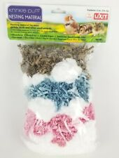 Nesting Material for Pet Hamster Gerbil Mice & Small Animals 2 oz Krinkle Puff