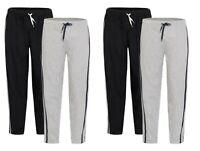 Mens Long Lounge Wear Pants Nightwear (2 Pack) Pyjama Bottoms Sleepwear