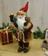Large Free Standing Santa Claus Christmas Decoration Traditional Santa 70cm