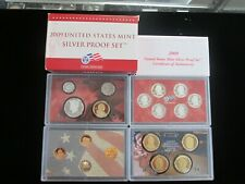 2009 US Mint Silver Proof Set with Box/COA - US Coins Best Price