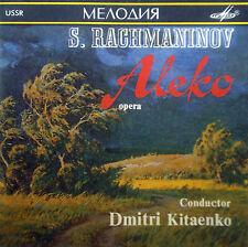 CD RACHMANINOV - aleko, Kitaenko, Melodiya