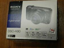 NEW in Open Box - Sony Cyber-Shot DSC-H90 16.1 MP Camera - BLACK - 027242843974